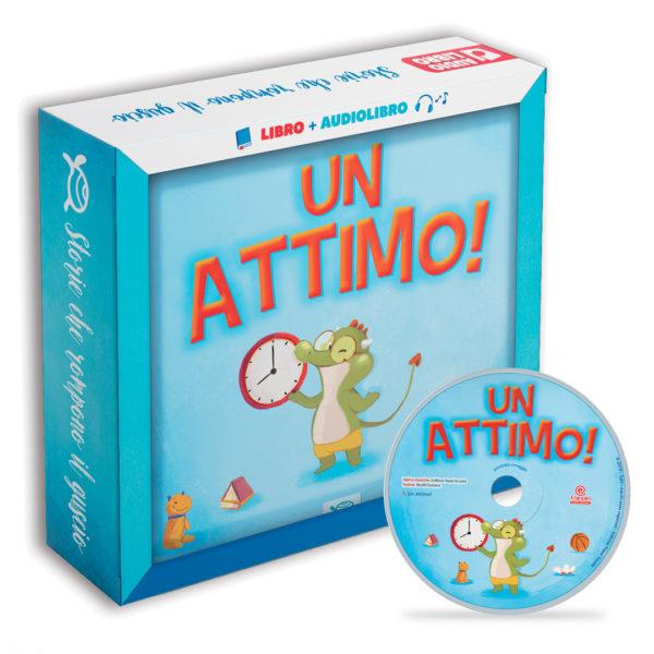 Immagine albo illustrato libro per bambini un attimo di le tartarughe marine con cd e versione audio con audiolibro