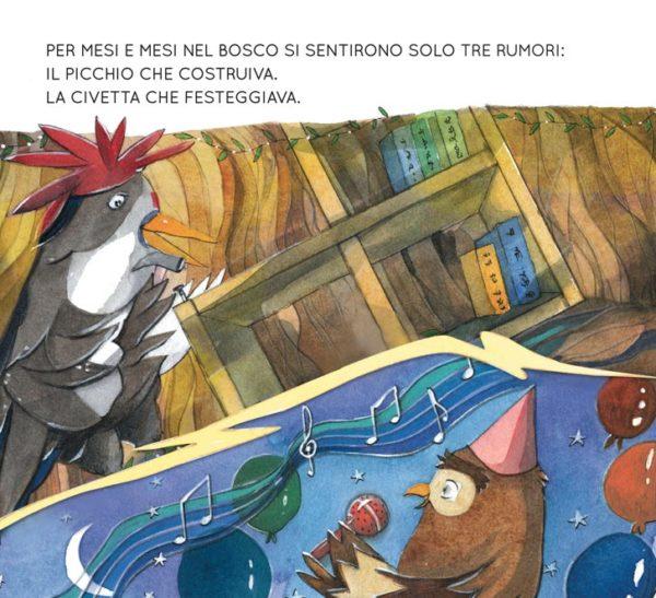 Dopo la pioggia, libro di narrativa, albo illustrato, pagina 1