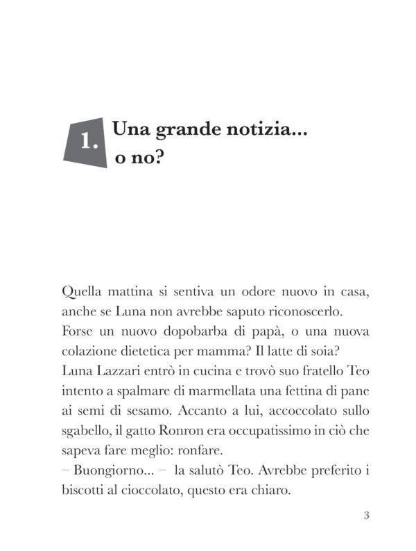 Due giorni di libertà, libro di narrativa, pagina 1