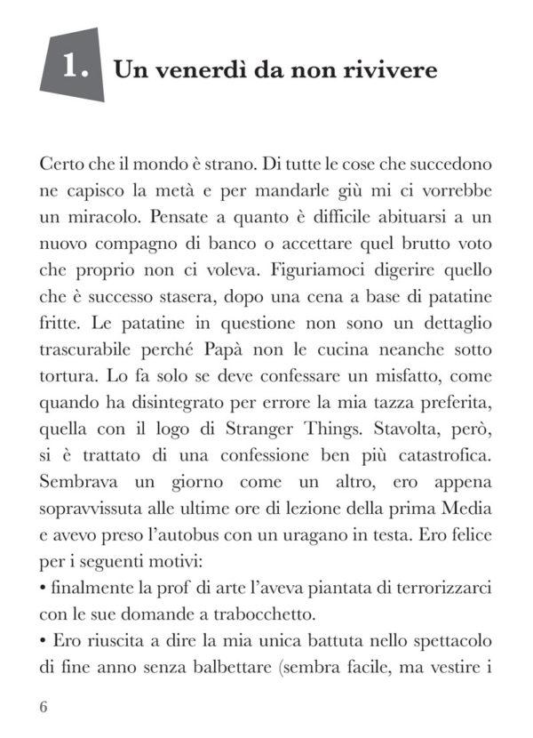 Finché siamo noi, libro di narrativa, pagina 1