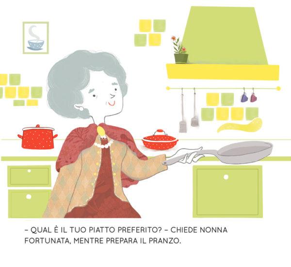 Il piatto preferito di Camilla, libro di narrativa, albo illustrato, pagina 1