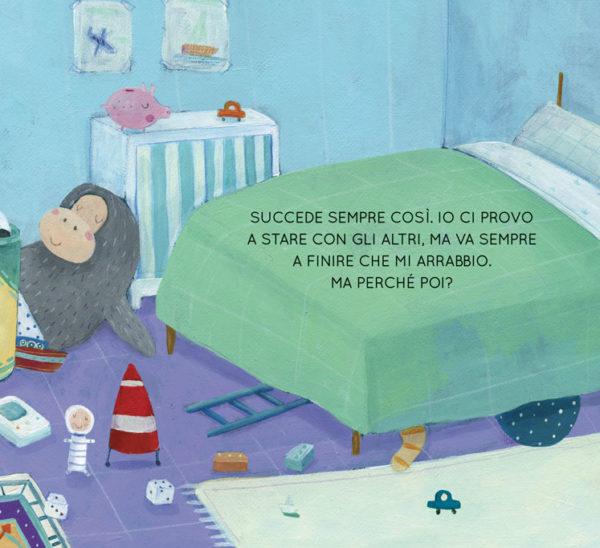 Sotto le coperte, libro di narrativa, albo illustrato, pagina 1