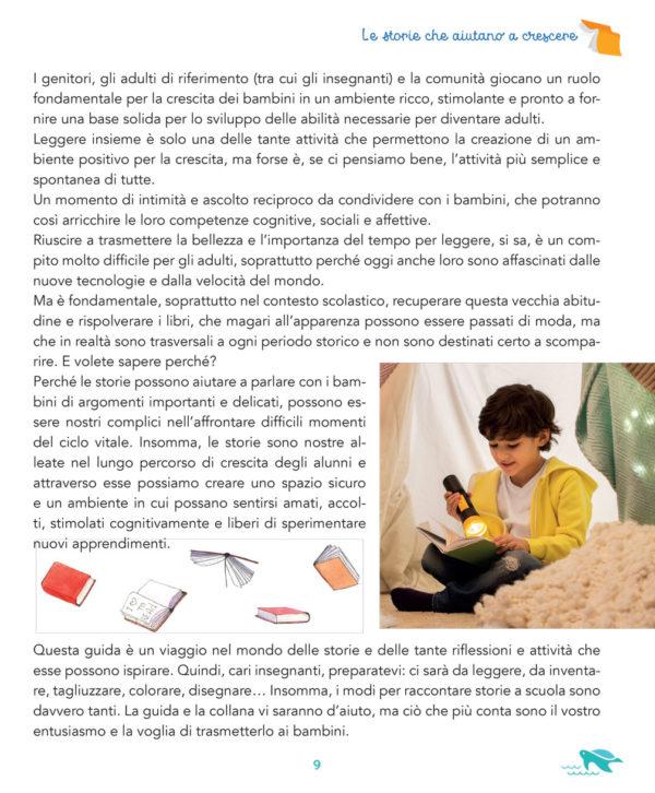 Note introduttive guida didattica Storie che rompono il guscio 6 anni