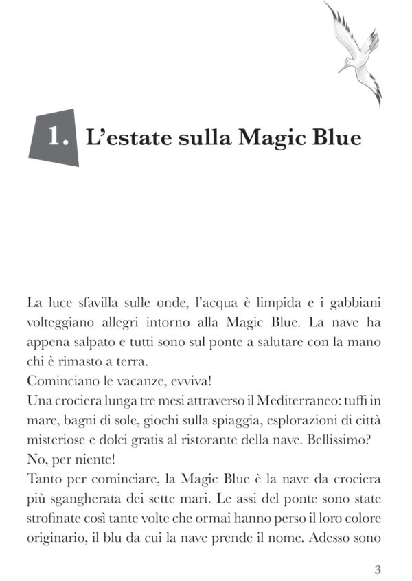 Timbranato e i trucchi di magia, libro di narrativa, pagina 1