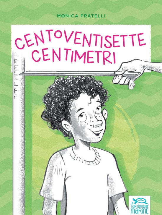 Copertina Centoventisette centimetri, libro di narrativa