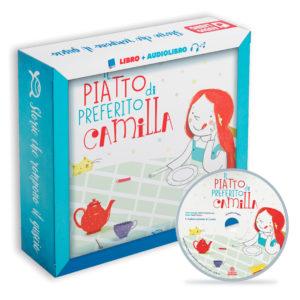 Immagine albo illustrato libro per bambini Il piatto preferito di Camilla di le tartarughe marine con cd e versione audio con audiolibro